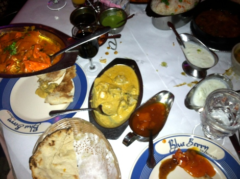 indian food and sauces