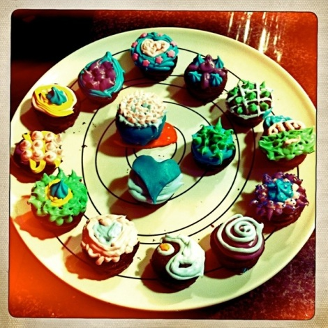 assorted delicious cake pops!